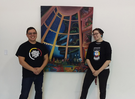 Adam Martin and Katherine Boyer, organizers of the three-day symposium, say it will offer something for everyone. Photo by Brad Bellegarde.