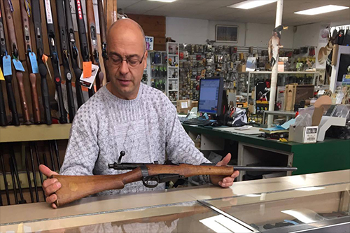 Local weapon seller gives guns a second shot