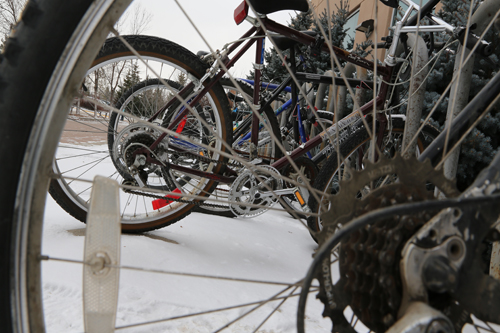 Winter woes not stopping cyclists